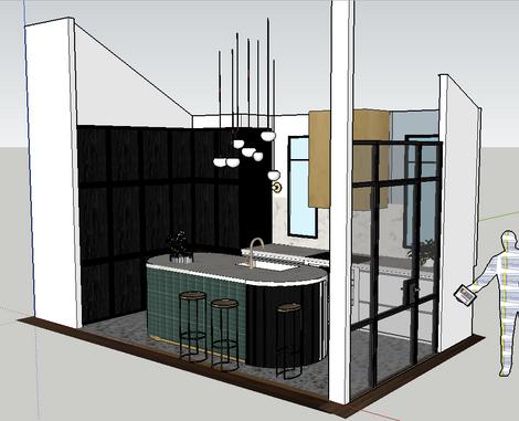 3D Elevation Murdoch house