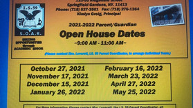 IS 59 Open House Dates