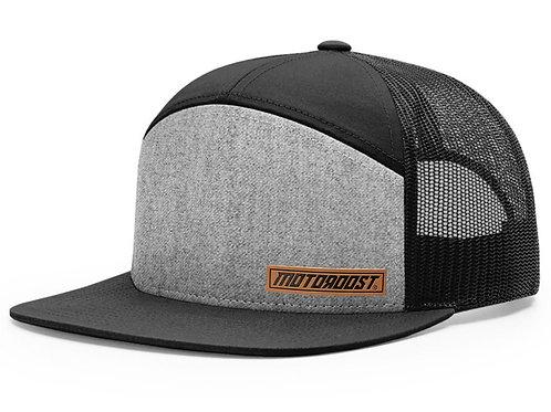 Leather Label Trucker