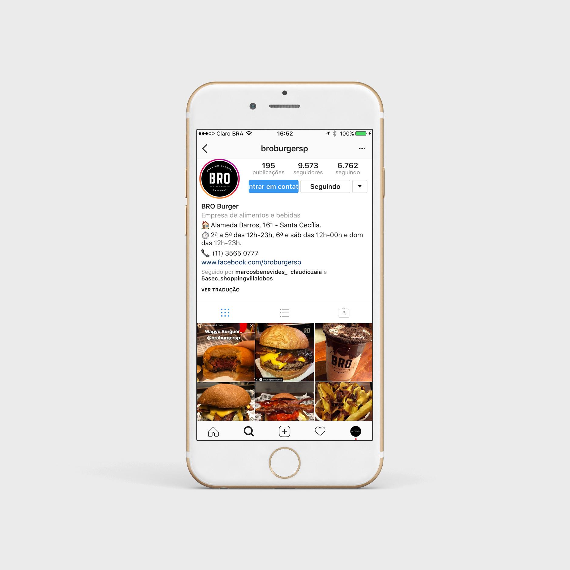 Instagram Bro Burger