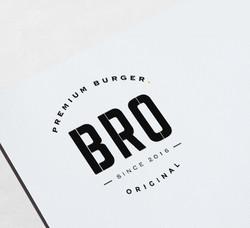 Logo Bro Burger