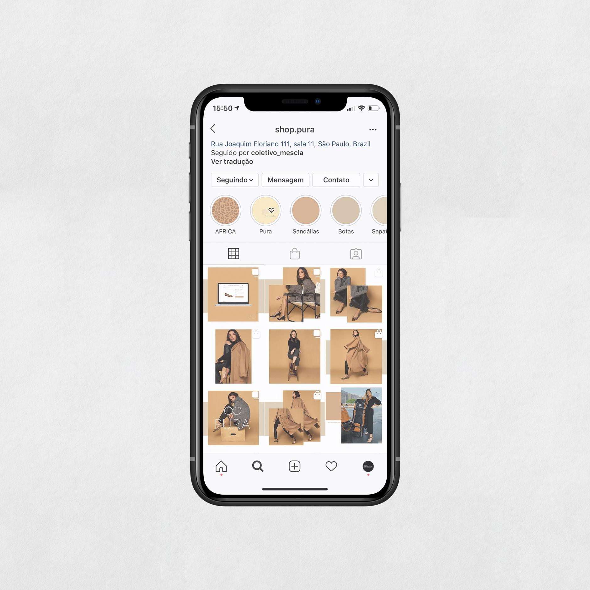 Instagram Shop Pura