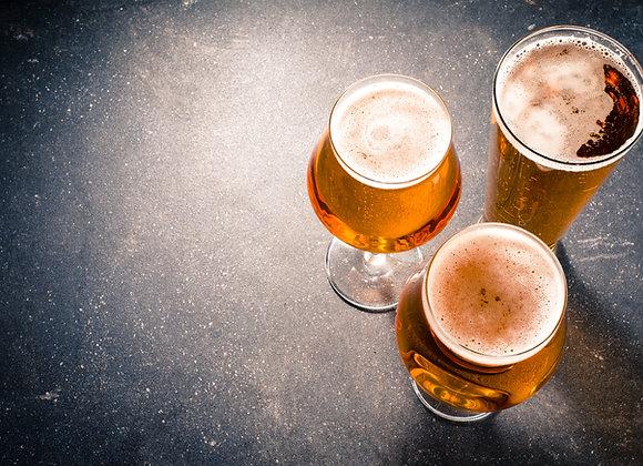 Bière Ambrée 75cl Brasserie de la Bizhh