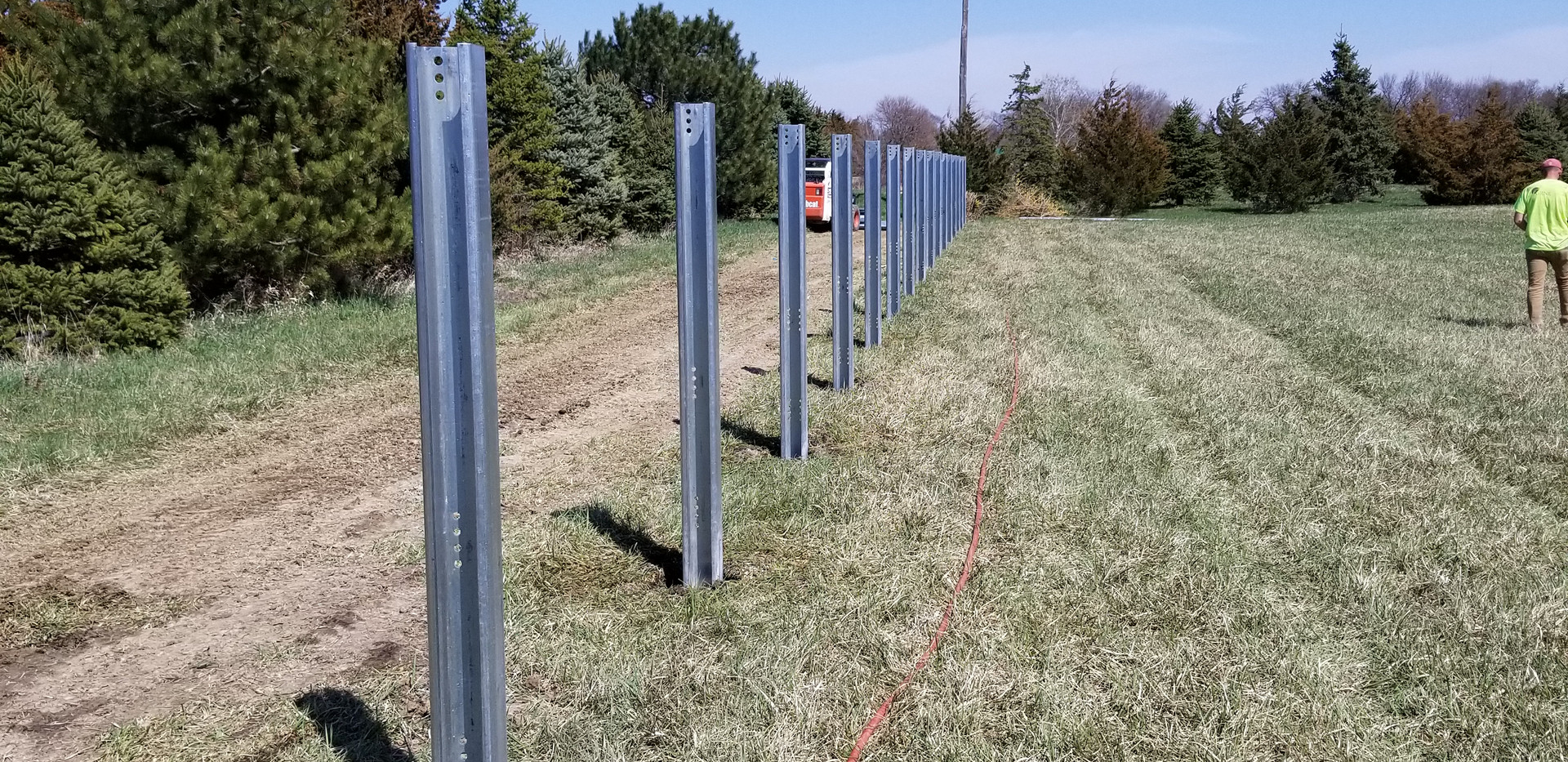 Posts in the Ground