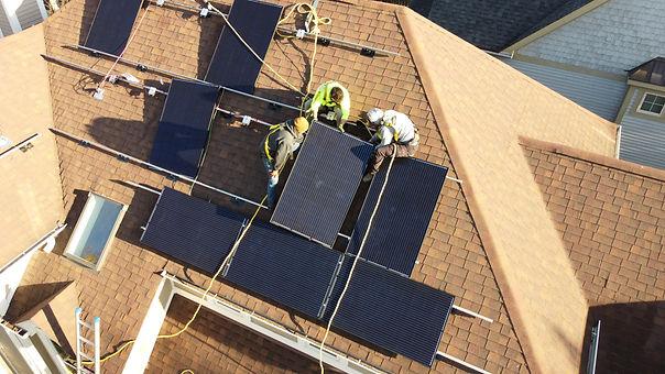 Residential Solar Installation from GRNE Solar