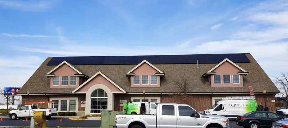 Commercial Pitched Roof