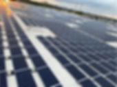 GRNE Solar Ballasted Array Installation