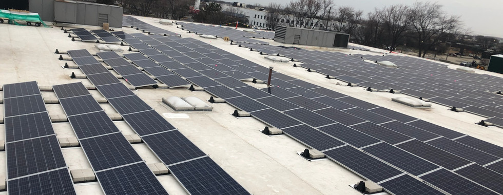Commercial Ballasted Array