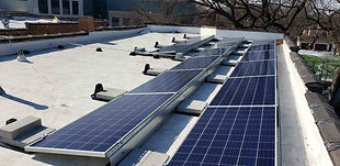 GRNE Solar - Flat Roof - Ballasted Syste