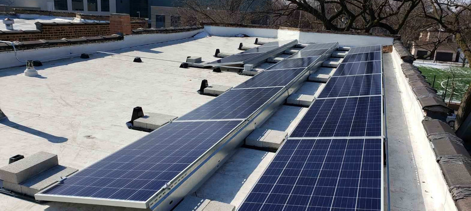 Residential Ballasted Array