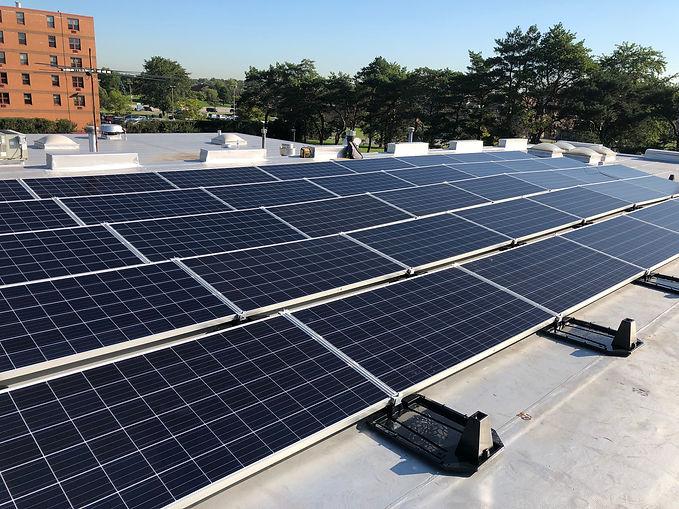 Oneness-Church-Flat-Roof-Solar-Installat