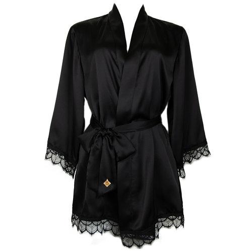 Marée Gown Black