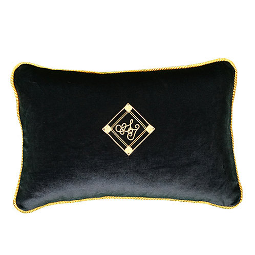 Velvet Cushion 30×45 midnight blue