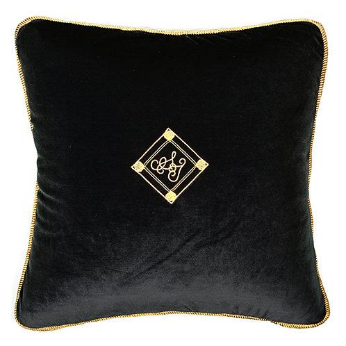 Velvet Cushion 45×45 midnight blue