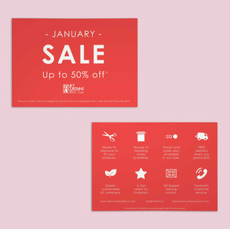 Net Curtains Direct - Sale Postcards