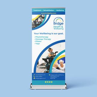 Roller Banner - Bridge Health & Wellbeing