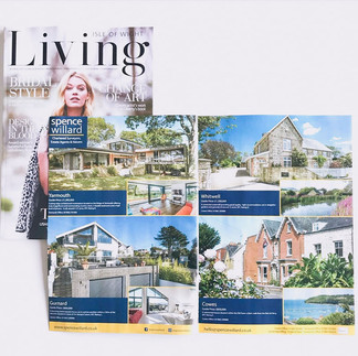 Magazine Adverts - Spence Willard