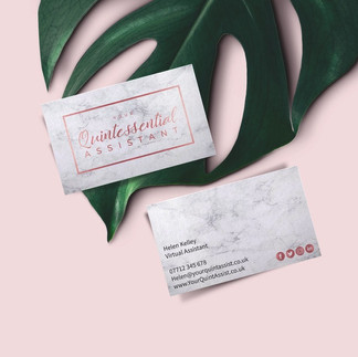 Business Cards - Your Quintessential Assistant