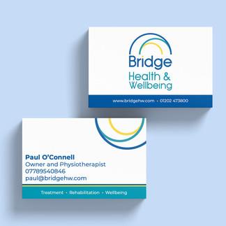 Branding & Business Cards - Bridge Health & Wellbeing