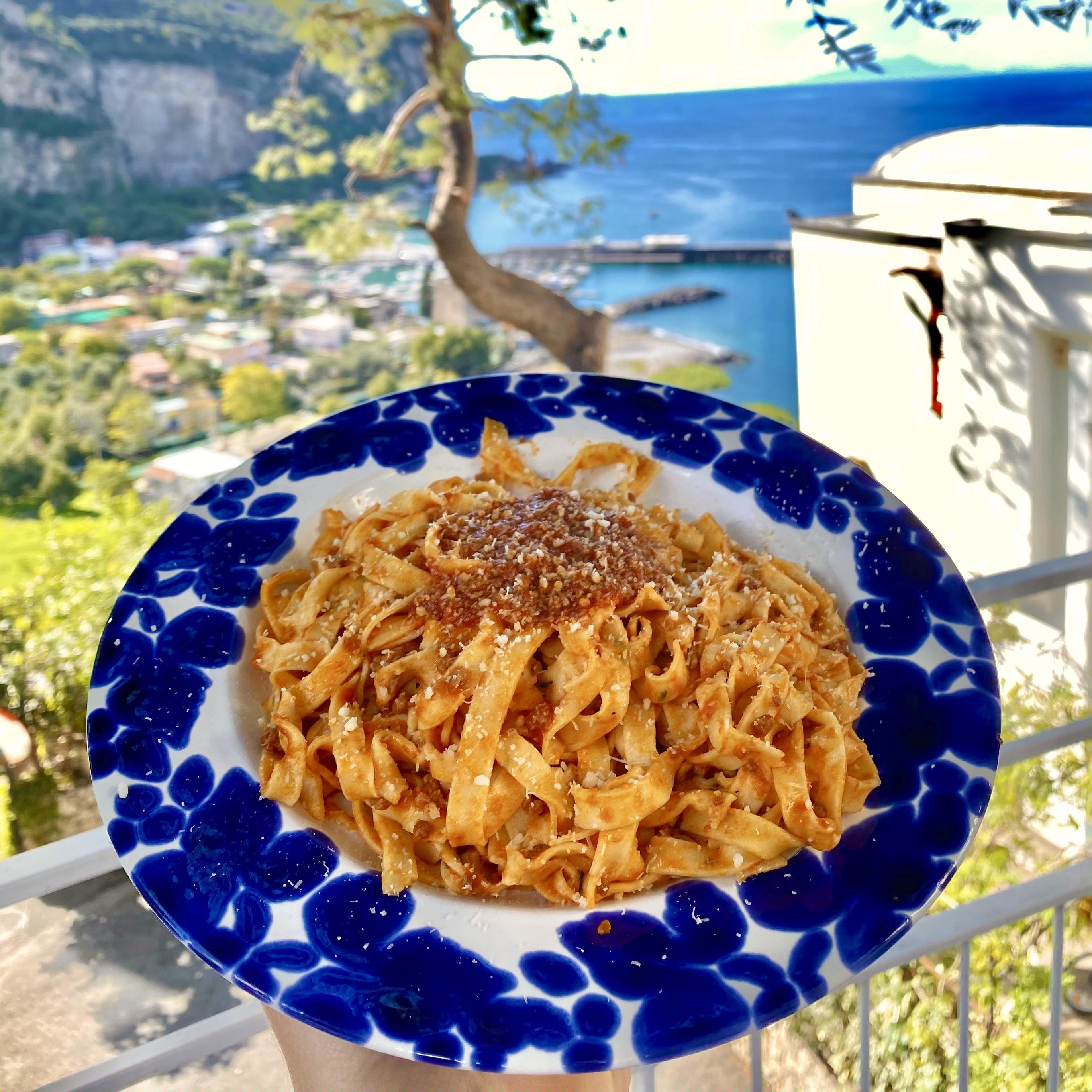 On-line Pasta class