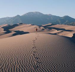 desert marche chemin
