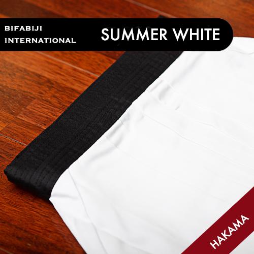 Summer White Hakama