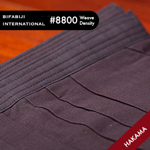 #8800 Weave Density Cotton Hakama