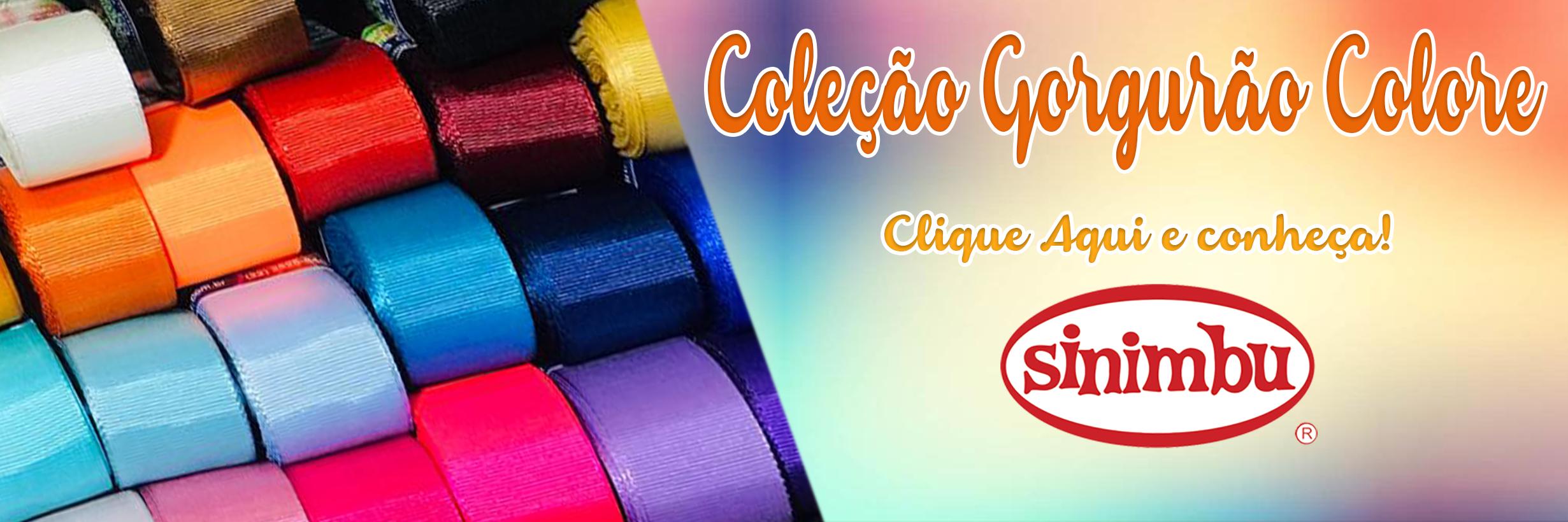 Coleção Gorgurão Colore