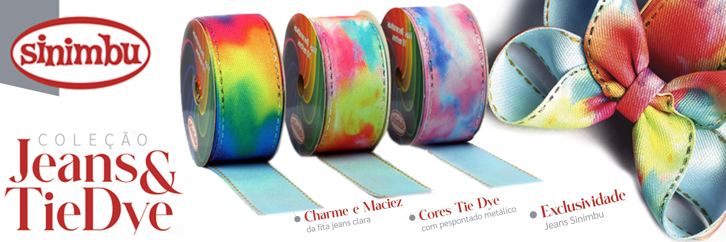 Lancamento Jeans Tie Dye