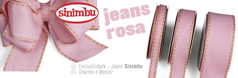 Lancamento Jeans Rosa