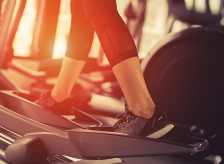 28-minute HIIT Elliptical Workout