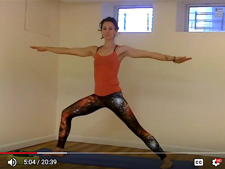 20 Minute Yoga Sequence for Bone Strength