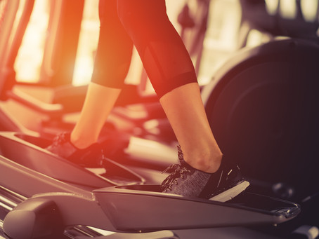 28-Minute High Intensity Interval Elliptical Workout