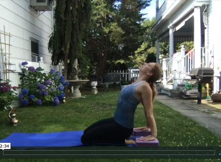 How to Modify Upward-facing Dog in Yoga to Minimize Diastasis