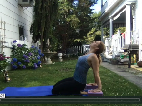 How to Modify Upward-facing Dog in Yoga to Minimize Diastasis