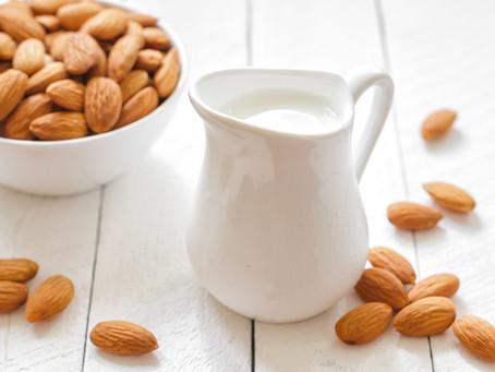Super Easy Homemade Almond Milk