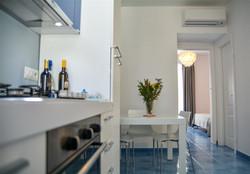 Angolo cottura + soggiorno