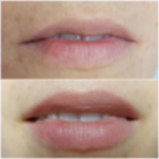 акварельные губы татуаж губ киев оболонь