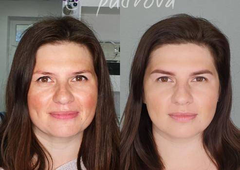 перманентный макияж до после перманентний макіяж до після навчання