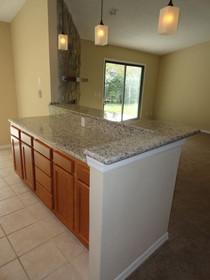 Bianco Taupe granite countertops