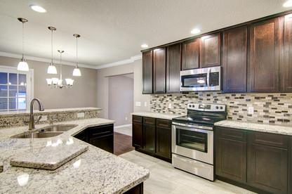 White Ornamental Granite Countertops Jacksonville, FL