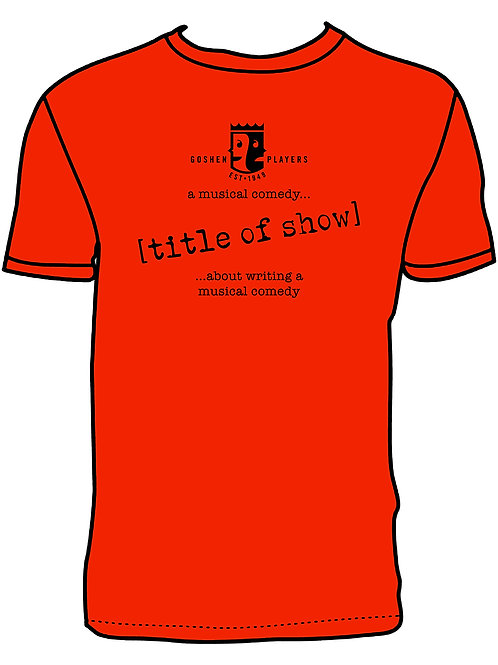 Title of Show T-Shirt