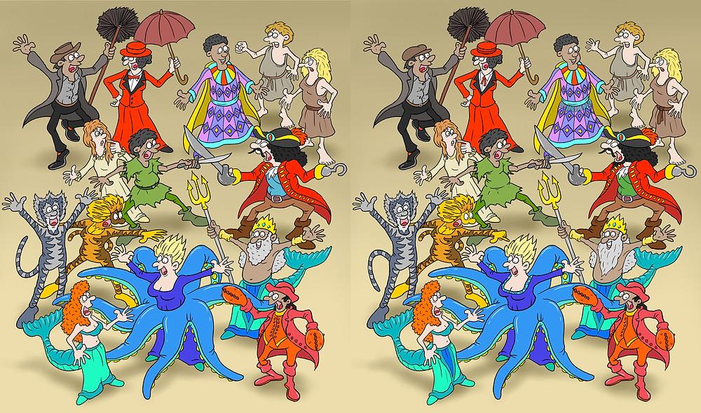 School production, Little Mermaid, Peter Pan, Mary Poppins, Josephs Amazing Technicolor Dream Coat
