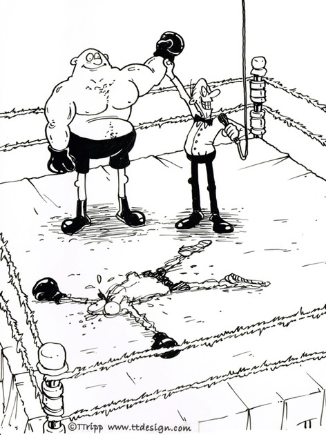 Boxing. And the winner is...
