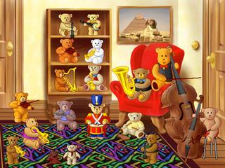 The Teddy Bear Orchestra