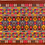 Thumbnail: F-19 Large brown rectangle with densely embroidered top, central & bottom bands