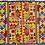 Thumbnail: E-48Medium densely embroidered  oblong (200 x 150 mm)