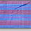Thumbnail: D-52 Scarf with pink & blue stripes throughout) (1880 x 400)