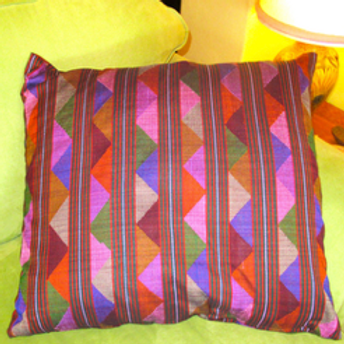 D-67Large hand-woven cushion cover