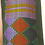 Thumbnail: E-101Small green hand-woven neck or back pillow